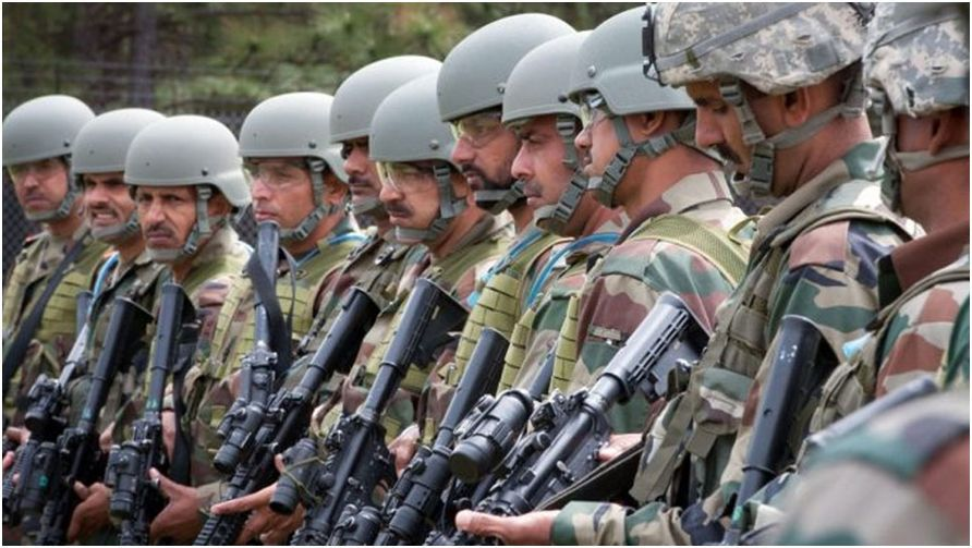 India Army Started War Practice near Pakistan Barder